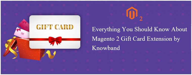Magento 2 Gift Card Extension by Knowband